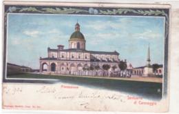 Santuario Di Caravaggio - Processione Viaggiata 1904 Con Bollo Levato  F894 - Autres Villes