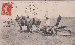 Seine  Maritime :  Env. D ' Yvetot : Travail Aux Champs , La Faucheuse( Agriculture) - Yvetot