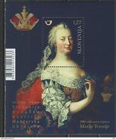 Slovenia. Scott # 1219 MNH. Empress Maria Theresa. Joint Issue With Austria,Hungary,Croatia  2017 - Gemeinschaftsausgaben