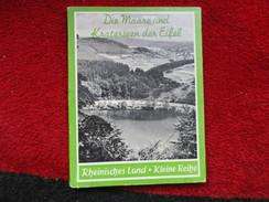 Die Maare Und Kraterseen Der Eifel / De 1966 - Livres, BD, Revues