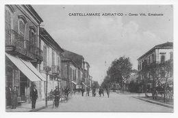 Castellamare Adriatico - Corso Vitt. Emanuele - Italia