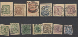 Germania Reich - Lotto Da Postkarten - Brieven En Documenten