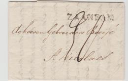 B226 / Zaandam Nach St. Nicolas 1829 - 1815-1830 (Holländische Periode)