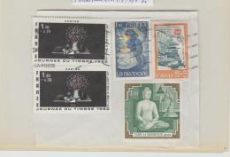 Frankreich 287 / 5 Marken 1979-80 Auf Fragment - Oblitérés