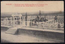 Halen - Haelen - Rustplaats Onzer Dappere Helden Alhier Gevallen Den 12 Augustus 1914 - Cimetière Soldats - Halen