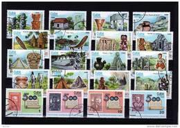 Motive 500 Jahre Entdeckung Amerikas 1986 Cuba 3042/61 Plus 4 ZD-Str O 12€ Stamp On Stamp History Se-tenant Of Kuba - Cuba