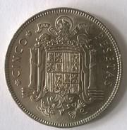 Espagne - 5 Pesetas 1949 - Francisco Franco - - [ 5] 1949-… : Royaume