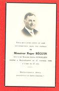 MARCHELPOT Mr Roger BEGUIN        FAIRE PART DECES - Décès
