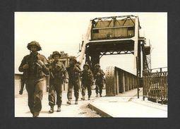 GUERRE 1939-45 - WAR 1939-45 - DÉBARQUEMENT EN NORMANDIE - PEGASUS BRIDGE - OPERATION OVERLORD - JOUR  J - 5 JUIN 1944 - Guerre 1939-45