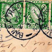 Carte Postale Irlande Eire Irland Shelbourne Hotel Dublin Trefle Clover Baile Atha Athlone Shamrock - 1937-1949 Éire