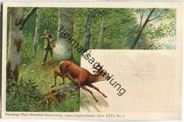 Jagd - Aquar.-Jagdpostkarte Serie XXVI No. 5 - Künstleransichtskarte Ca. 1900 - Theo Stroefer's Kunstverlag Nürnberg - Caccia