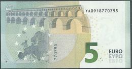 € 5 GREECE  Y001 I4  DRAGHI  UNC - 5 Euro