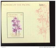 MICRONESIA  388  MINT NEVER HINGED SOUVENIR SHEET OF FLOWERS - ORCHIDS   #  487-2   ( - Végétaux