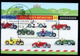 ALLEMAGNE BERLIN 2009 BLOC  HISTORISHER MOTOSPORT - OBLITERE - Blocchi