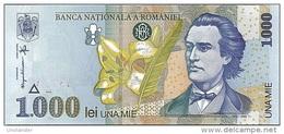 ROMANIA P-106 1000 Lei 1998 **UNC** Crisp New - Romania