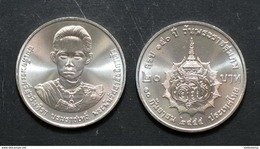 Thailand Coin 20 Baht 2012 150th King Grandmother Savang Vadhana (#51) UNC - Thailand