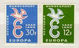 Saarland, 1958 Mi 439-440, Europa CEPT ** [270817XXI] - Europa-CEPT