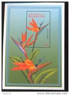 ANTIGUA & BARBUDA   2351 MINT NEVER HINGED SOUVENIR SHEET OF FLOWERS - ORCHIDS   #  033-4   ( - Végétaux