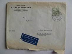LETTRE AVION POSTEE De SUNDBYBERG 1953  TIMBRE OBLITERE - Briefe U. Dokumente