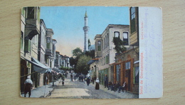TURCHIA  POST CARD FROM COSTANTINOPOLI CONSTANTINOPEL USED - Turchia