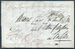 1837 Gibraltar Entire H.M.S. RODNEY, Royal Navy Ship - Hatton Gardens, London - Gibraltar