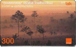 Thailand  Phonecard Orange - Tung Slaengluang - Landschaften