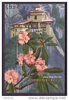 MINT NEVER HINGED SOUVENIR SHEET OF FLOWERS - ORCHIDS   #  091-5   ( BHUTAN  1316 - Végétaux