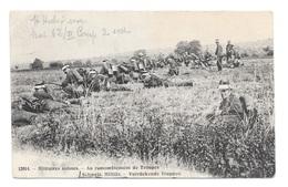 (16462-00) Suisse - Militaires Suisses - Au Rassemblement De Troupes - Manovre
