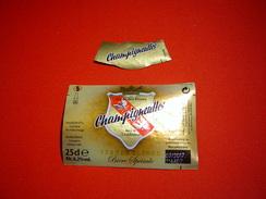 ETIQUETTE / BIERE SPECIALE / GRANDE BLONDE / CHAMPIGNEULLES / FRANCE - Bière