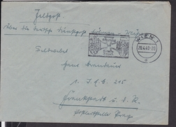 """Sonderstempel  Wien """" Geburtstag Des Führers """" 1940 - Deutschland"""