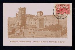 "PAMPLONA ""Javier Castillos"" (NAVARRA) Chateau Castles Monuments 1937 Spain Maximum Cards Mc703 - Maximum Cards"