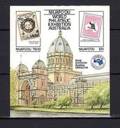 Niuafo'ou 1984 Stamps On Stamps AUSIPEX -84 IMPERF. MNH -(V-24) - Arts