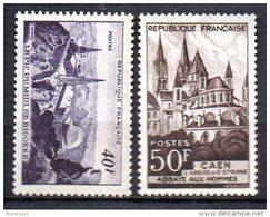France   N° 916 & 917 Neuf  XX  MNH , Cote :   12,90 €  Au Quart De Cote - France