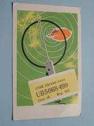 USSR Ukraine Lvov UB5068499 Zone 16 - Reg. 068 > FM7AV - 1981 ( Zie Foto Voor Details ) - Radio Amateur