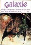 Galaxie N° 126, Novembre 1974 (TBE) - Opta