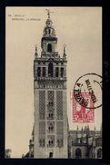 "SEVILHA ""Catedral - La Giralda"" Cathedral église Church Monuments 1937 Spain Maximum Cards Mc703 - Maximum Cards"