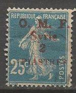 SYRIE N° 37 OBL TB - Unused Stamps