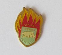 1 Pin's Sapeurs Pompiers De DOMFESSEL (ALSACE-67) - Pompiers
