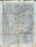 Carte D'Etat Major - Projection Lambert III Zone Sud 187 - Valence (St Etienne) - Topographical Maps