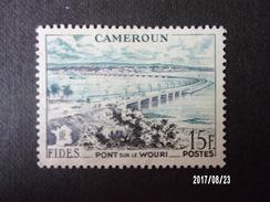 N°301 - Cameroun - Pont Sur Le Wouri - Trains