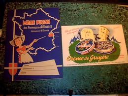 Protege Cahier Publicitaire Fromage Mere Picon &  Jeux Disney - Blotters