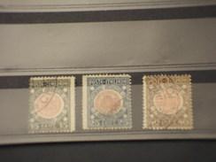 ITALIA REGNO - 1921 VENEZIA GIULIA  3 VALORI - TIMBRATI/USED - Usati