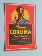 Rhum CORUMA Supérieur Importé De L'Union Française ( Lievin ) ! - Rhum