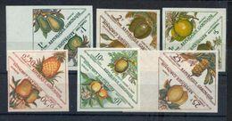 Gabon Taxe 34 45  Fruits Non Dentelé  Neuf * * TB MNH Sin Charnela - Gabon (1960-...)