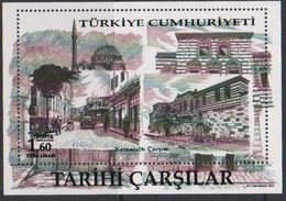 TURKEY, 2017, MNH, BAZAARS, MARKETS, KEMERALTI BAZAAR, MOSQUES,  S/SHEET - Other