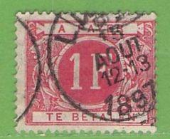 MiNr.P7 O Belgien Portomarken - Portomarken
