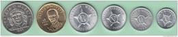 BK-SET-127 CUBA 1992-2012 SERIE DE MONEDAS CIRCULANTE. 1c-1$ ALUMINIO. CU-NI. UNC. - Cuba