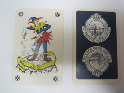 120.22 - JOKER  --  BIERE BLANCHE - HAECHT - Playing Cards (classic)
