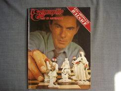 L'ESTAMPILLE  ( L'objet D'Art )  N° 36  - 1972  -  Jeux Echecs - Trésors De Bibliophiles  -  Artisans D'Alsace - Brocantes & Collections