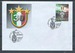 JU029  RSM - JUVENTUS CAMPIONE D'ITALIA 2011-12  - FDC - Club Mitici